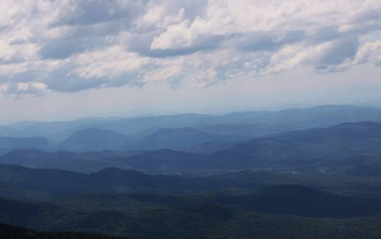 Vermont's Green Mountains, alive with music and climate action.